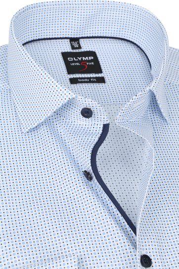 OLYMP Lvl 5 Shirt 2104 Blue