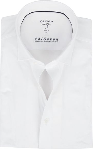 OLYMP Lvl 5 Shirt 24/Seven White