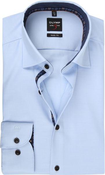 OLYMP Lvl 5 Shirt Light Blue