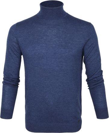 Olymp Merino Lvl 5 Turtleneck Blue