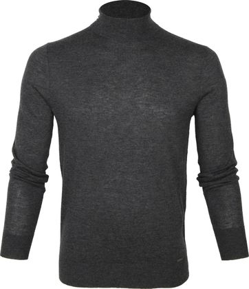 Olymp Merino Lvl 5 Turtleneck Dark Grey