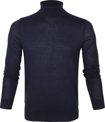 Olymp Merino Lvl 5 Turtleneck Navy