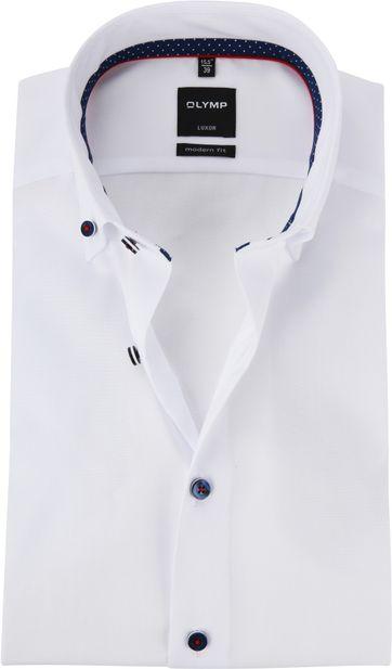 OLYMP MF Luxor Overhemd Wit