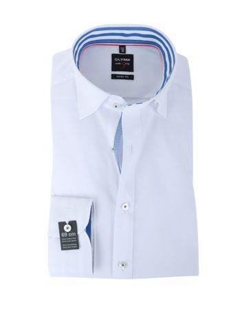 Olymp Modern Fit Hemd Weiß SL7
