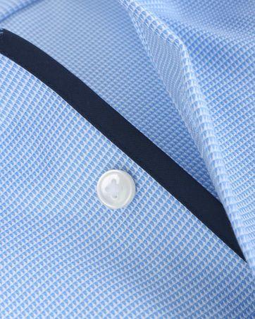 Olymp Modern Fit Shirt Blue Dessin