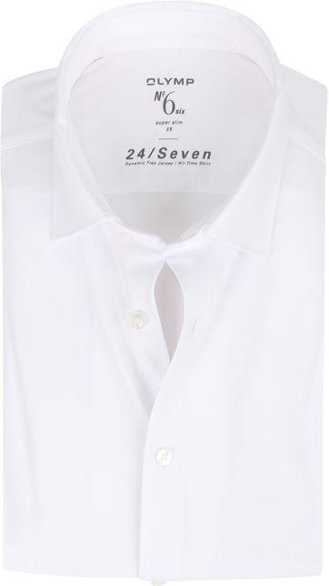 OLYMP No'6 Hemd 24/Seven Weiß