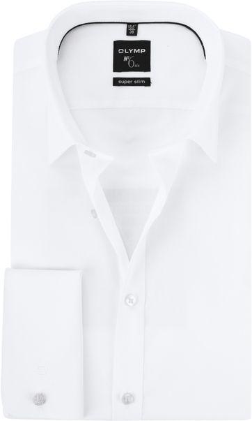 OLYMP No'6 Hemd SF Weiß