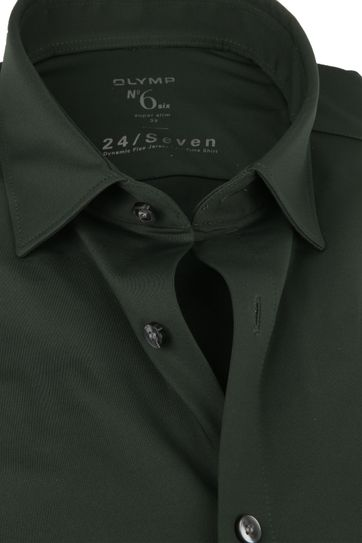 OLYMP No'6 Shirt 24/Seven Olive Green
