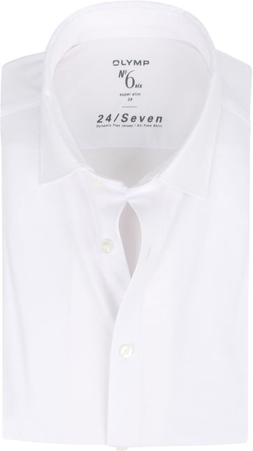 OLYMP No'6 Shirt 24/Seven White