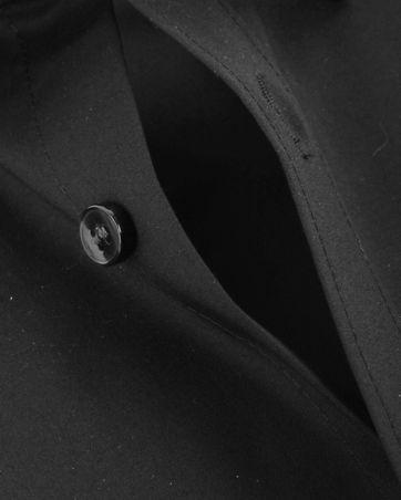 OLYMP No'6 six Hemd Super Slim Fit Schwarz