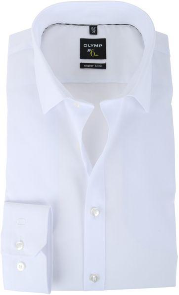 OLYMP No\'6 six Hemd Super Slim Fit Weiß