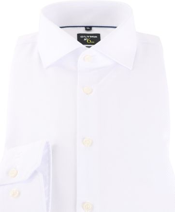 OLYMP No'6 six Shirt Skinny Fit White