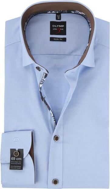 OLYMP Overhemd BF Blauw Level 5 SL7