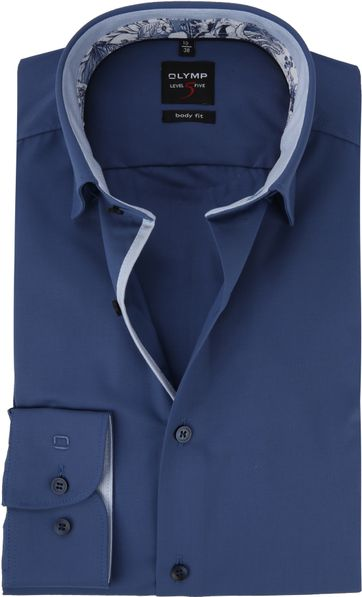 OLYMP Overhemd BF Level 5 Blauw