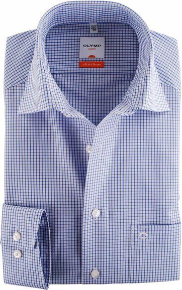 Olymp Overhemd Blue Check