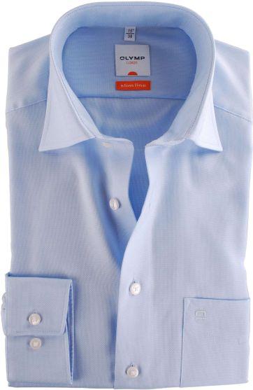 Olymp Overhemd Blue Derby
