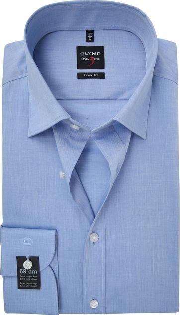 OLYMP Overhemd Level 5 BF Blauw