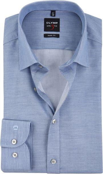 OLYMP Overhemd Level 5 BF Melange