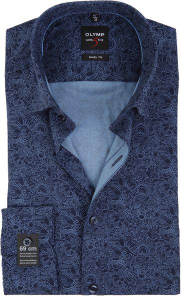 OLYMP Overhemd Level 5 BF Paisley SL7