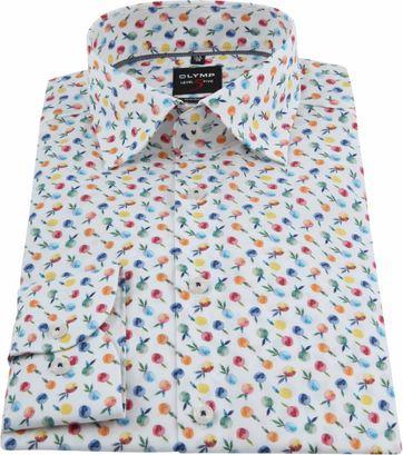 OLYMP Overhemd Level 5 Print