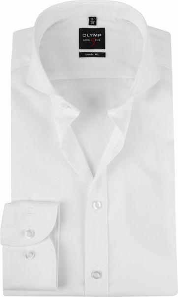 OLYMP Overhemd Level 5 Wit BF