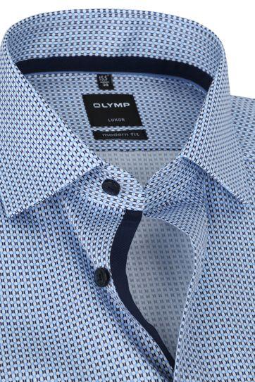 OLYMP Overhemd Luxor 1381 MF Blauw