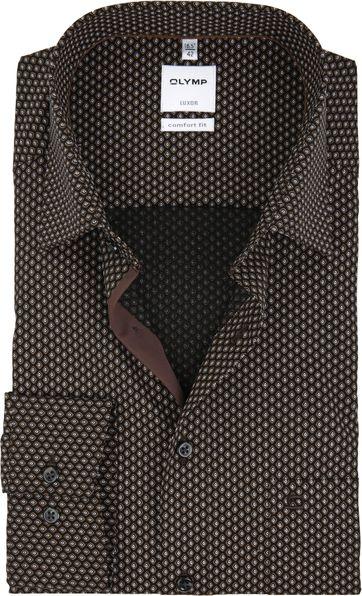 OLYMP Overhemd Luxor Comfort-Fit Print