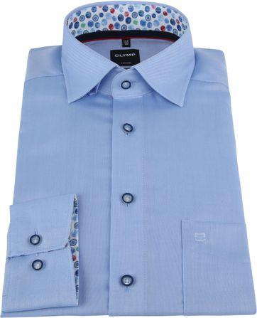 OLYMP Overhemd Luxor Lichtblauw
