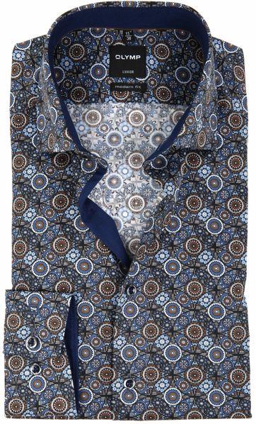 OLYMP Overhemd Luxor MF Print