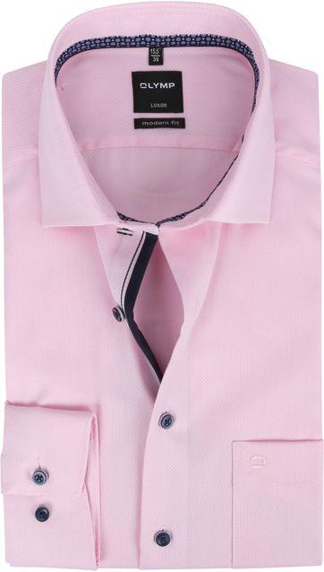 OLYMP Overhemd Luxor MF Roze