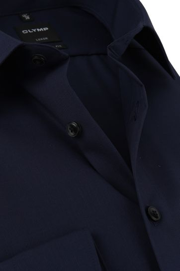 OLYMP Overhemd Luxor Modern-Fit Donkerblauw