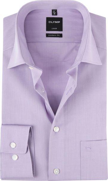 OLYMP Overhemd Luxor Modern-Fit Roze