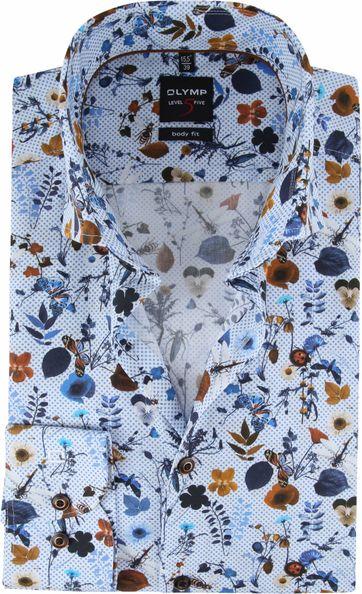 OLYMP Overhemd Lvl 5 Kleurrijk