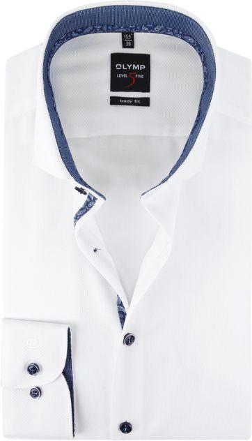 OLYMP Overhemd Lvl 5 Wit