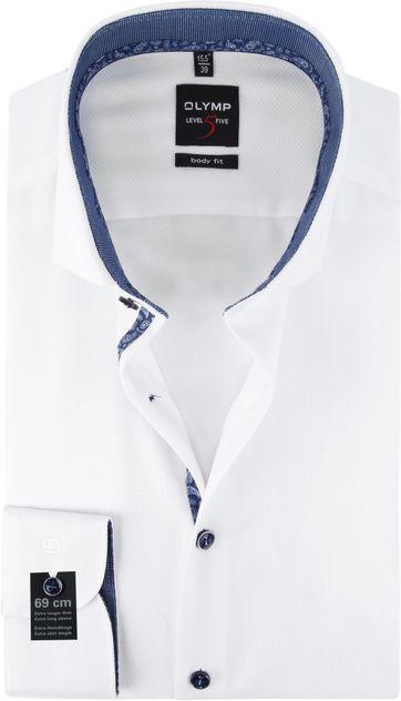 OLYMP Overhemd Lvl 5 Wit SL7