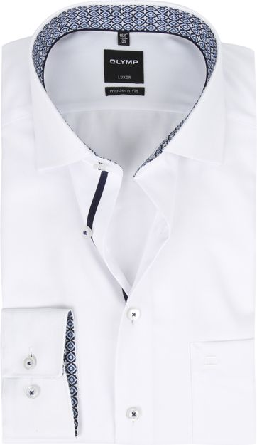 OLYMP Overhemd MF Luxor Wit