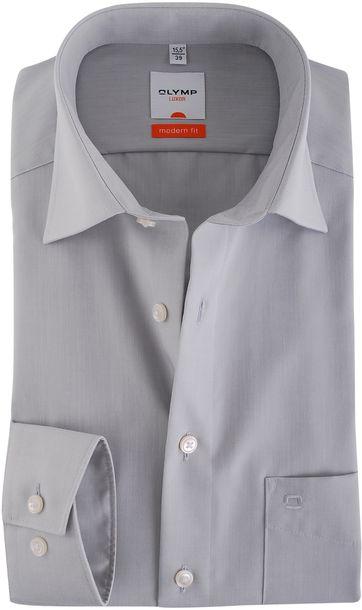 Olymp Overhemd Modern Fit Grijs