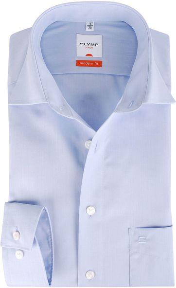 Olymp Overhemd Modern Fit Lichtblauw