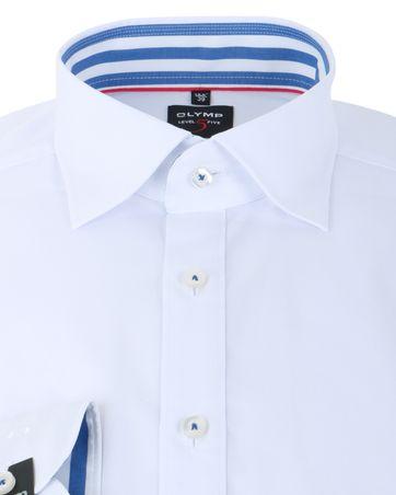 Detail Olymp Overhemd Modern Fit Wit SL7