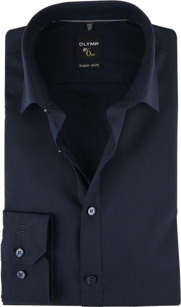 OLYMP Overhemd N0.6 Blauw Streep