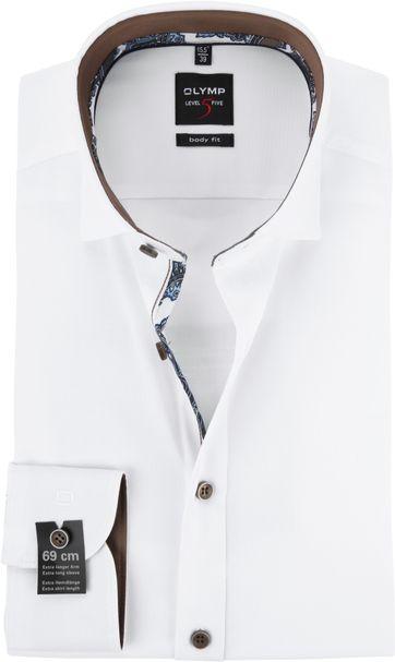 OLYMP Overhemd Wit BF Level 5 SL7