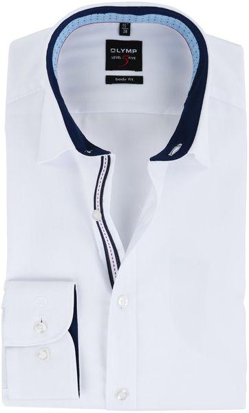 OLYMP Overhemd Wit Body Fit