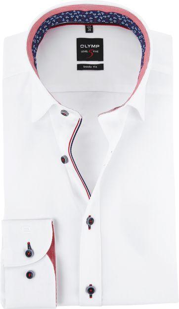 OLYMP Overhemd Wit Level 5