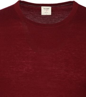 Olymp Pullover Lvl 5 Burgundy