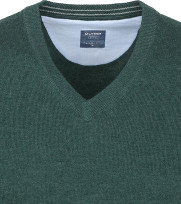 Olymp Pullover Smaragdgrün