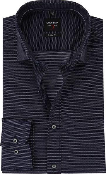 OLYMP Shirt BF Level 5 Dots