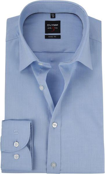 OLYMP Shirt BF Level 5 Twill Blue