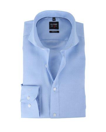 Olymp Shirt Body Fit Blauw