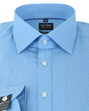 Detail Olymp Shirt Body Fit Blauw PP SL7
