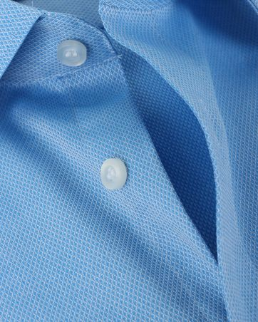 Detail Olymp Shirt Body Fit Blauw SL7